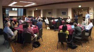 Hackathon Participants at LSC TIG Conference, January 2017